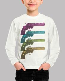 Colt Python PopArt Colours niño
