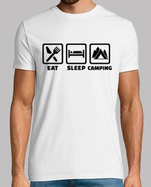 coma acampar del sueño