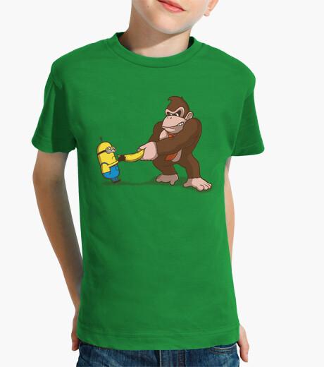 Vêtements enfant combattants banane