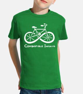 Combustible infinito bicicleta ecologica