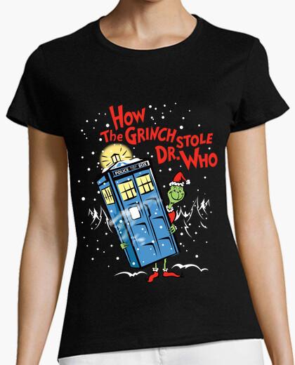 T-shirt come il grinch rubò il who del dott