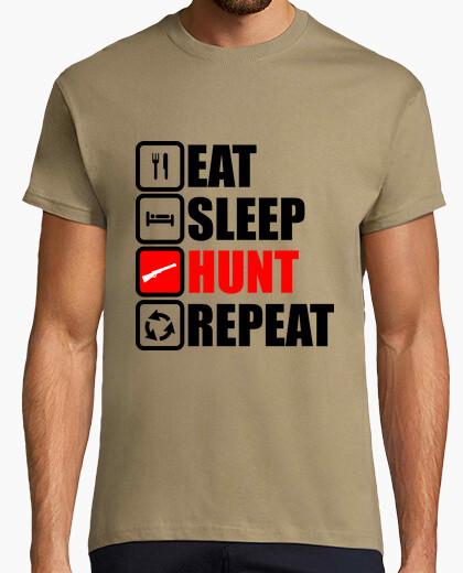 Camiseta come la repetición de la búsqueda del s