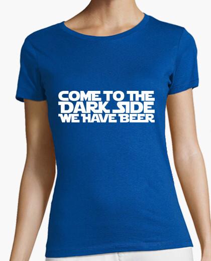 Camiseta Come to the dark side 1c