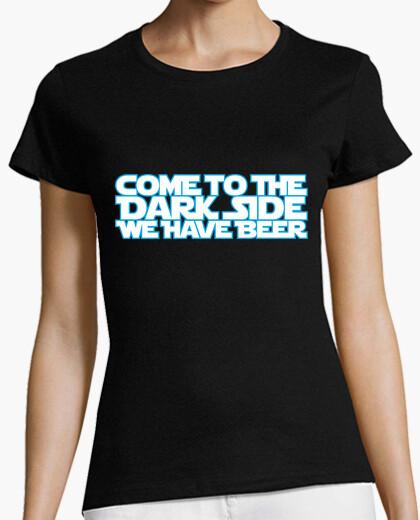 Camiseta Come to the dark side 2c