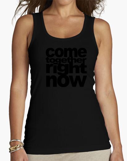 Camiseta come together black