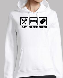 comer dormir alegría