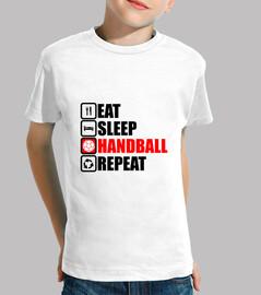 comer dormir balonmano repetir