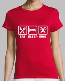 comer dormir cantar