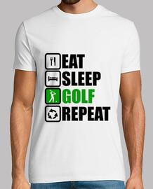 comer dormir golf repetir
