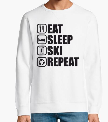 Sudadera comer dormir repetir esqui