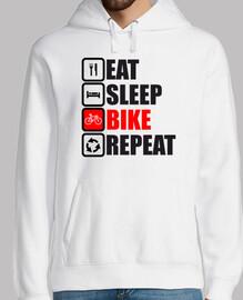 comer repetir la bici del sueño