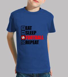 comer sueño fútbol repetir