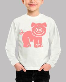 Comic pig