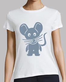 cómica ratón gris