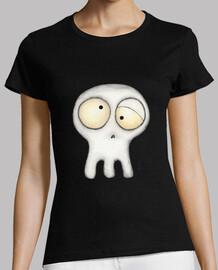 Comical skull
