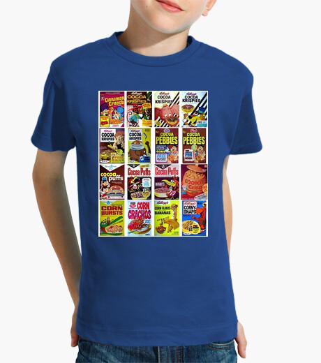 Ropa infantil Comida Friki - Cereales
