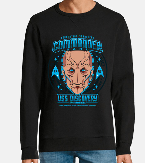 commander saru sweatshirt