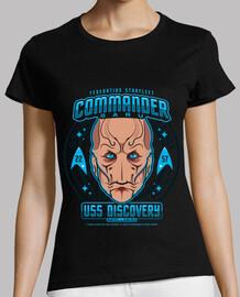 commander saru womens t-shirt