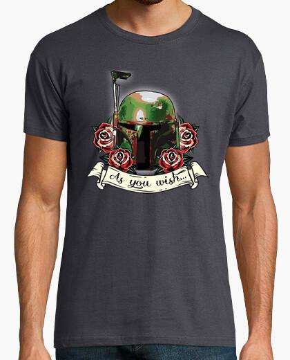 Tee-shirt Comme vous le souhaitez (Boba Fett)