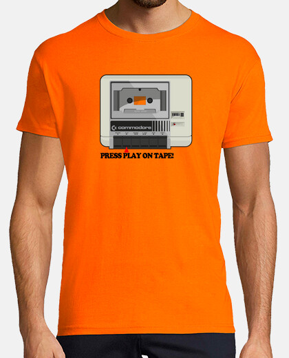 Camisetas Commodore Datassette