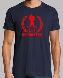 Communism Puño Estrella Laurel