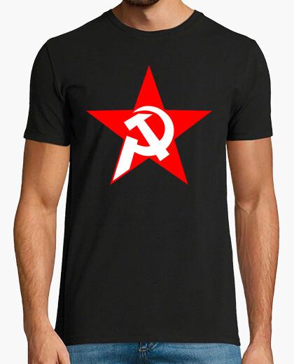Camiseta Communist Hammer, Sickle and Star