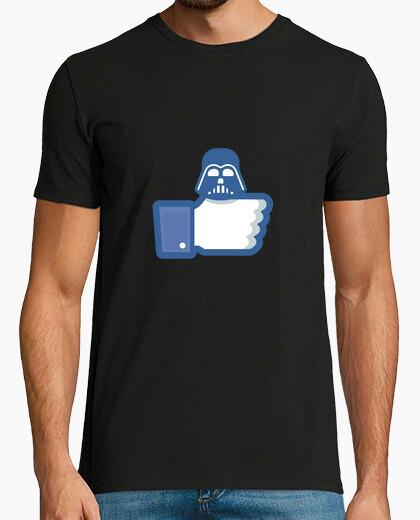 Camiseta como darth vader - facebook como