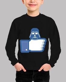 como darth vader - facebook como