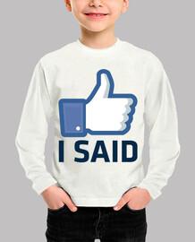 como dije facebook como