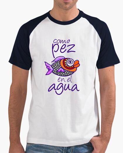 Camiseta Como pez en el agua
