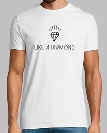 como un diamante