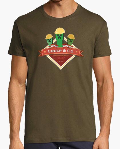 Camiseta Compañía de demolición Creeper  - Minecraft