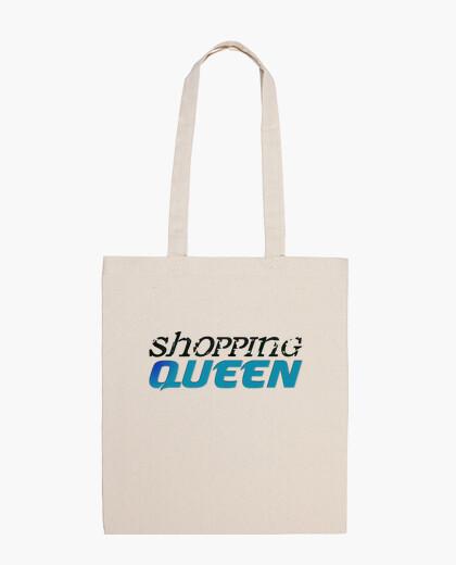 Bolsa compras reina azul