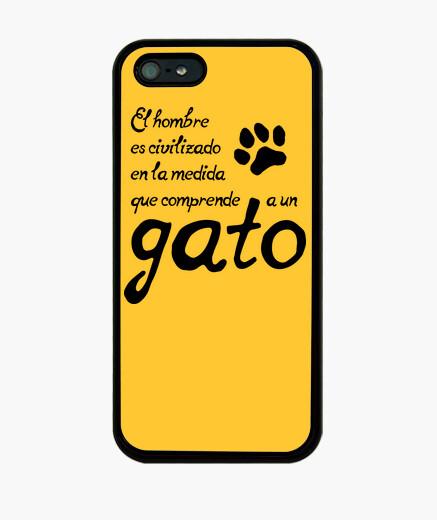 Funda iPhone Comprender a un gato