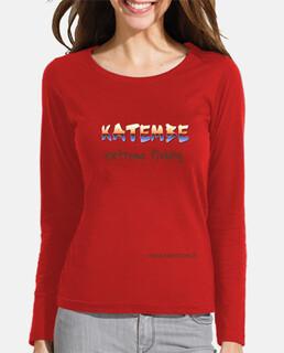comprida camicia a maniche senhora katembe extreme pesca
