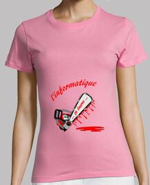 computer t shirt enerve fc woman