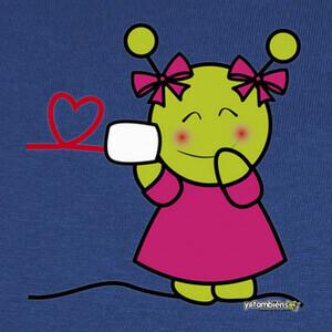 Camisetas Comunicando amor - chica