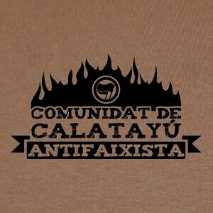 Comunidat de Calatayú Antifaixista T-shirts