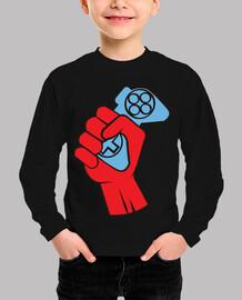 Comunist hand