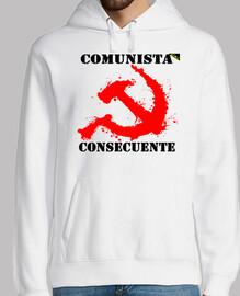 Comunista Consecuente (Rojo) - Sudaderas
