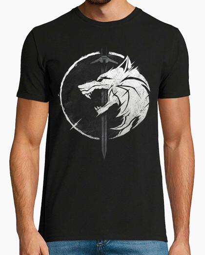 T-shirt con 3 w0lf