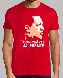 Con Chávez al frente