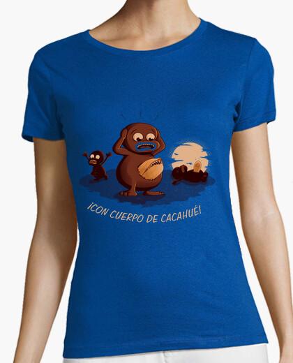 Camiseta Con Cuerpo de Cacahué