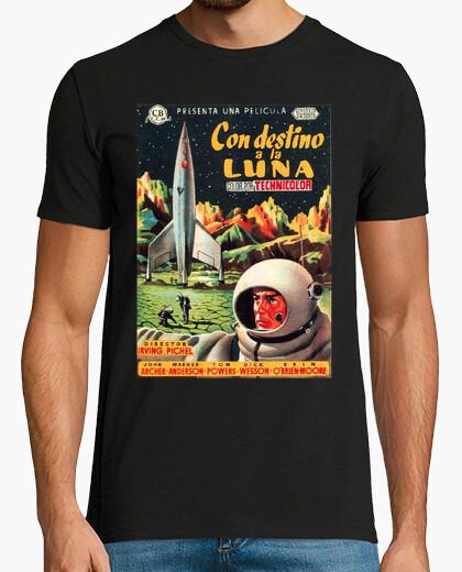 Camiseta Con destino a la luna