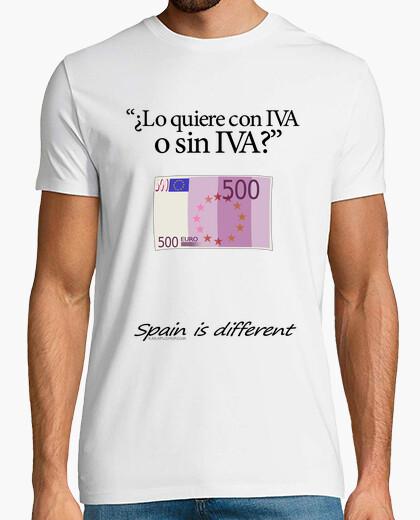 Camiseta ¿Con IVA o sin IVA?
