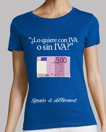 ¿Con IVA o sin IVA?
