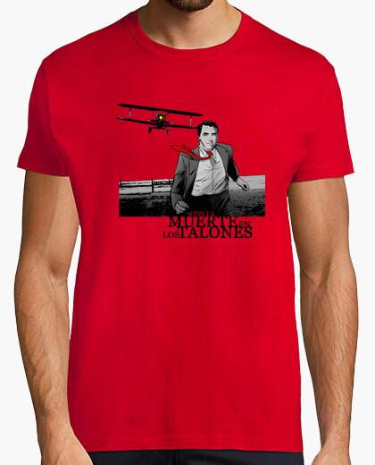 Camiseta Con la muerte en los talones roja