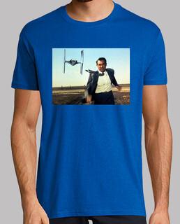 Con la muerte Talones Star Wars cine camiseta friki