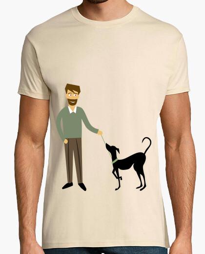 Camiseta Con mi galgo