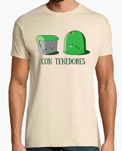 Camiseta Con Tenedores